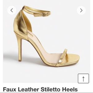 Forever 21 Faux Leather Stiletto Heels